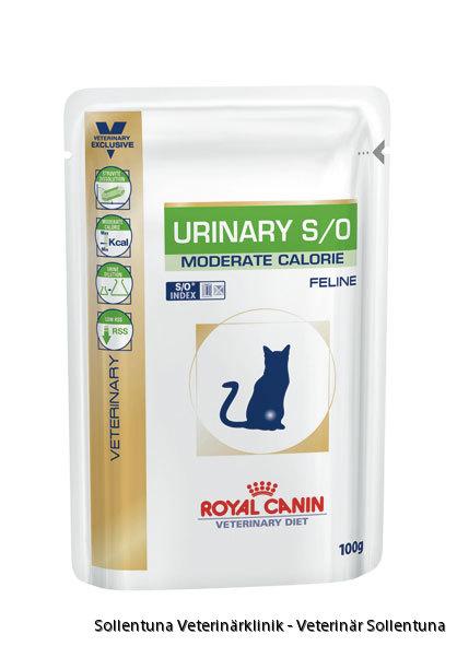 sollentuna veterinärklinik - Royal Canin Veterinary Diets Urinary S/O Moderate Calorie våtmat