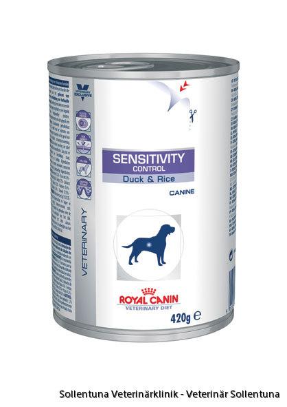 Sollentuna Veterinärklinik - Royal Canin Veterinary Diets Sensitivity Control burk 2