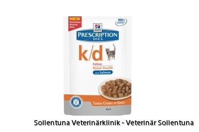 Sollentuna Veterinärklinik -Hills Vet Feline k/d