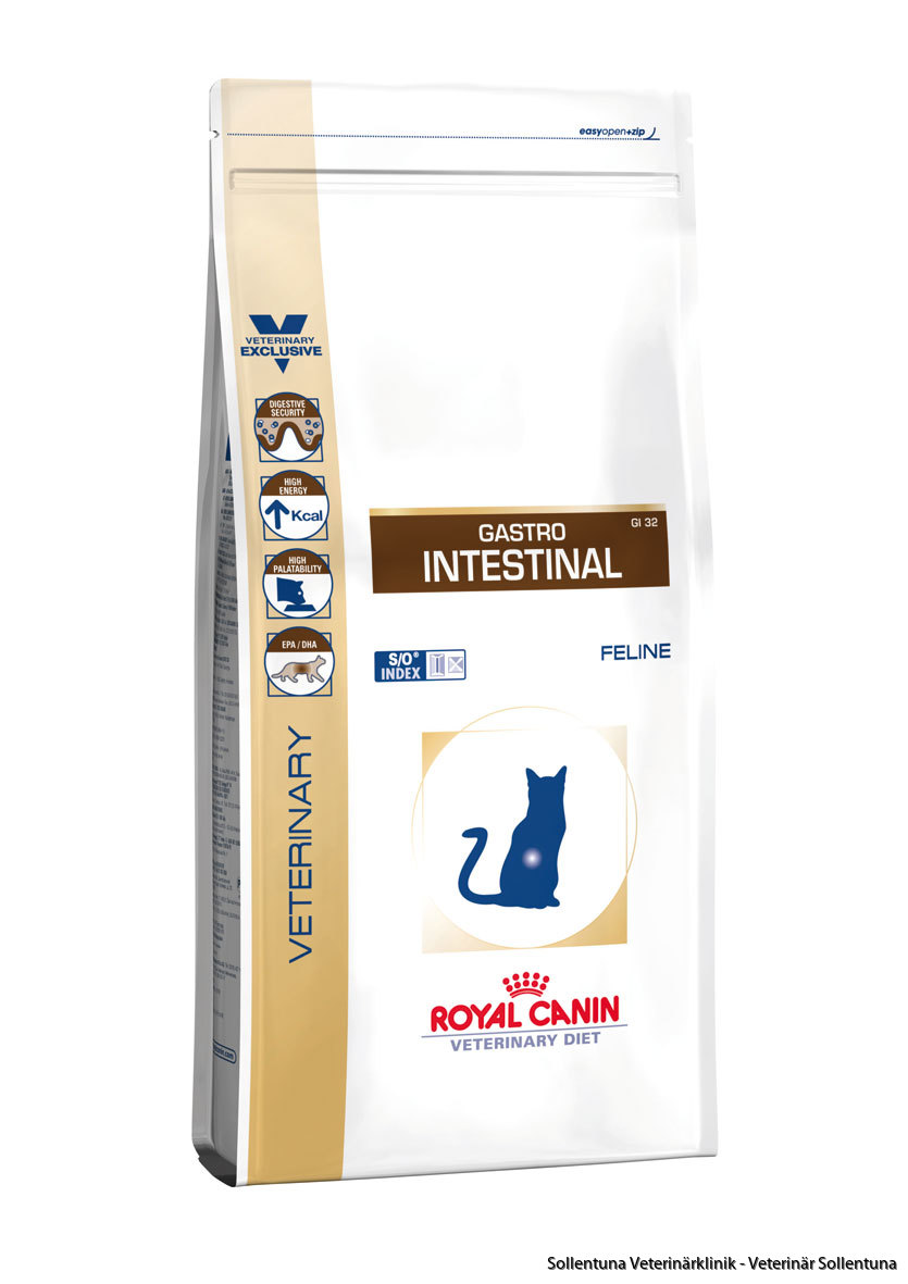 Sollentuna veterinärklinik - Royal Canin Veterinary Diets Gastro Intestinal