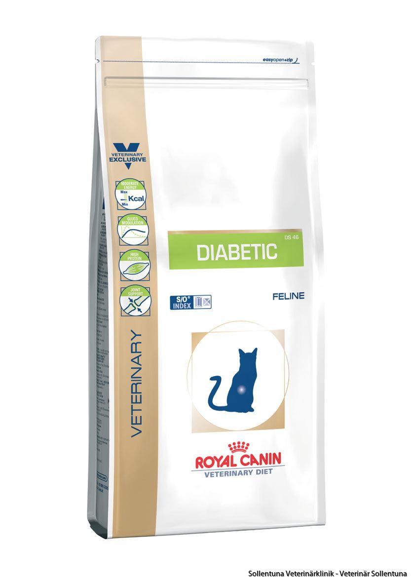 Sollentuna veterinärklinik - oyal Canin Veterinary Diets Diabetic DS 46