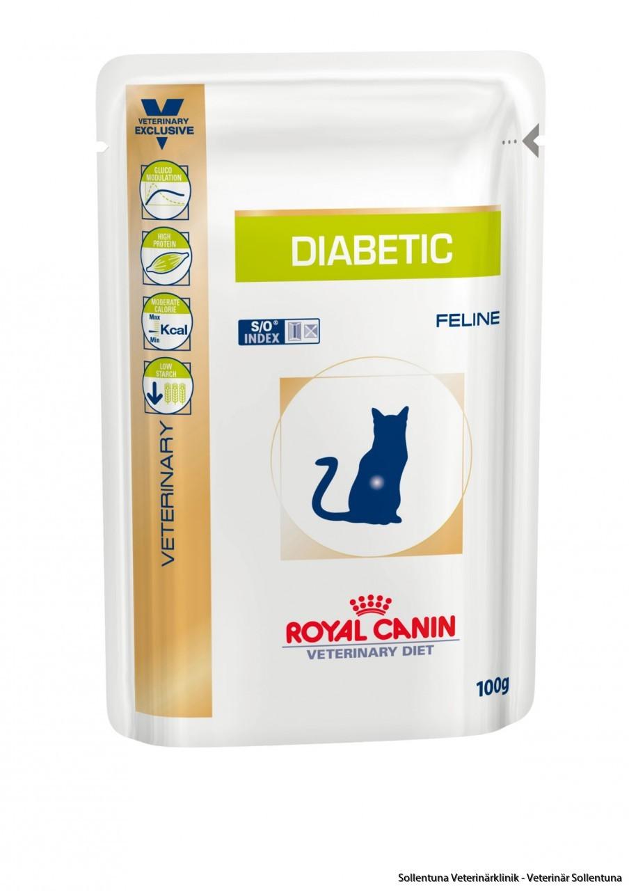 Sollentuna veterinärklinik - oyal Canin Veterinary Diets Diabetic DS 46 våtmat