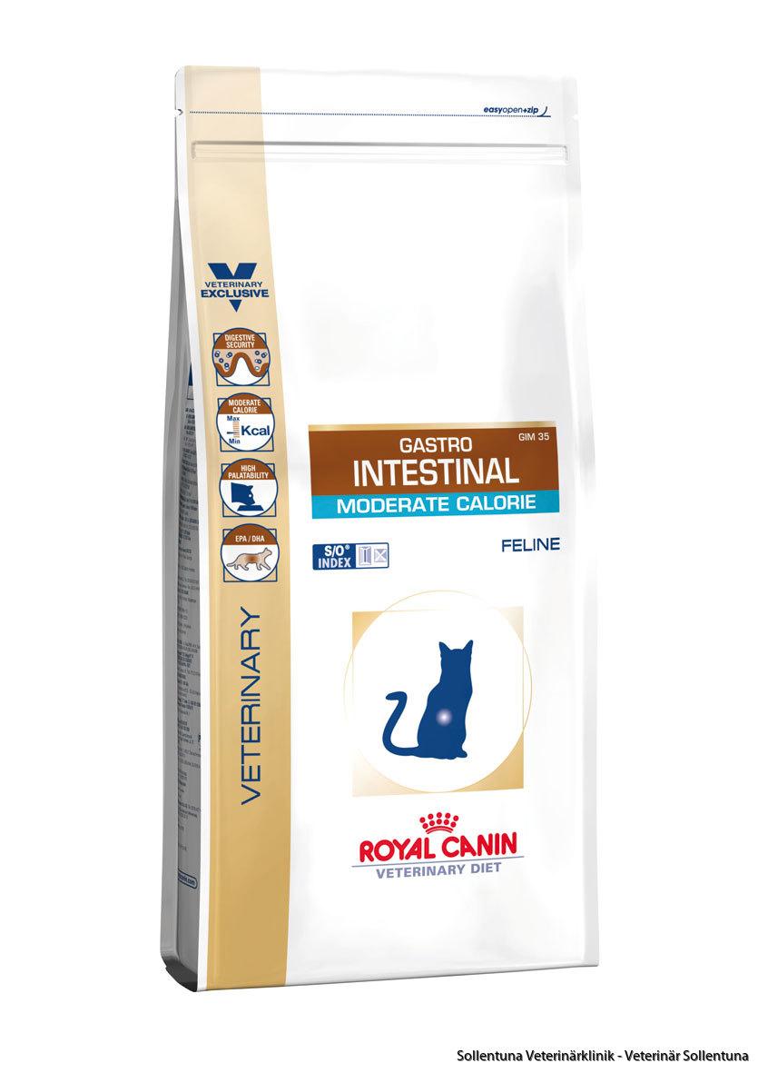 sollentuna veterinärklinik - Royal Canin Veterinary Diets Gastro Intestinal Moderate Calorie