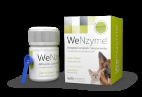 WeNzyme granulat 50g - pankreas-stöd för hundar och katter -