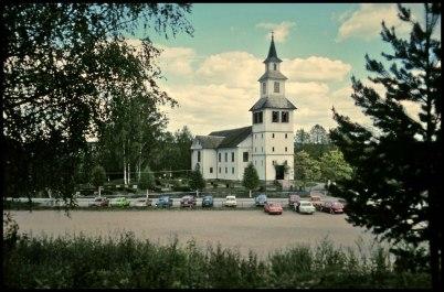 Östervallskogs Kyrka 1977