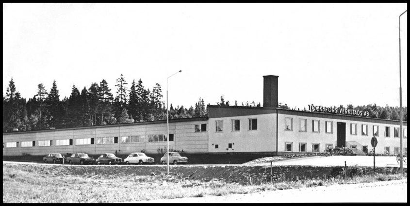 """ Nya "" TVAB-fabriken vid Skärmon."