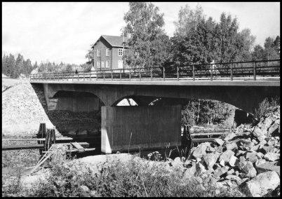 Nya landsvägsbron vid Sockenstugan.
