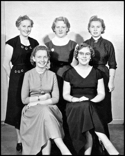 Luciakandidater 1955.