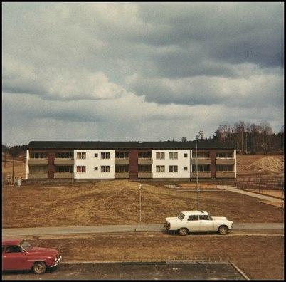 Nytt flerbostadshus (Nygårdsvägen 11) i centrala Töcksfors.