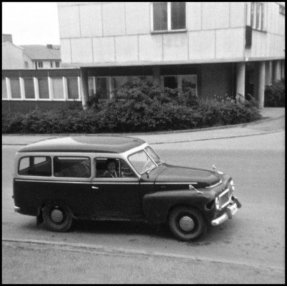 Volvo Duett i centrala Årjäng.