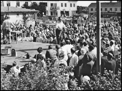 Succé för byfesten i Årjäng.