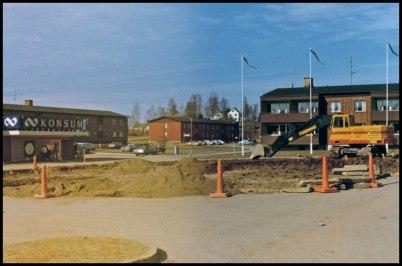 Ombyggnad av Töcksfors torg.