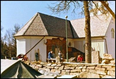 Töcksmarks kyrka får ny sakristia - 1982.