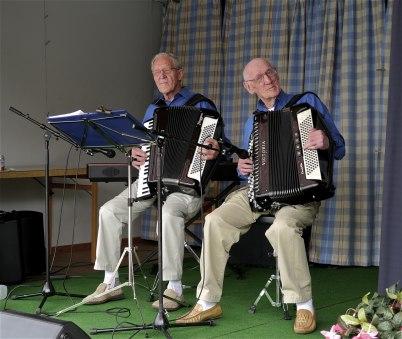 6 juli 2012 - Ingvar Wallin och Bertil Olsson