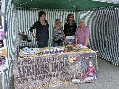 6 juli 2012 - Pingstkyrkan informerade om hjälp till Afrikas horn
