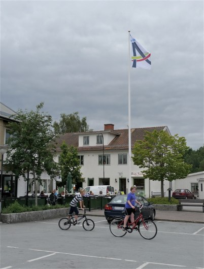 6 juli 2012 - Årjängs kommuns nya flagga