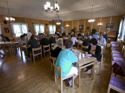 7 juli 2012 - Torgfrukosten flyttades till Församlingshemmet