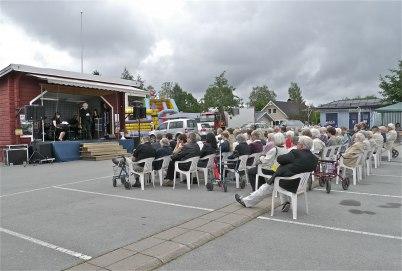 8 juli 2012 - Ekumenisk gudstjänst på torget