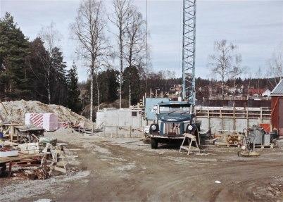 Bild från första utbyggnaden 1991 -  Foto : Folke Sahlin