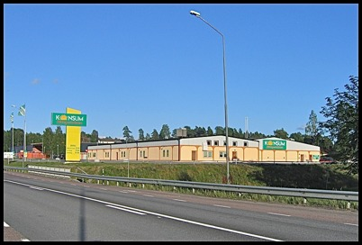 4 augusti 2005 Konsumbutiken vid Älverud.
