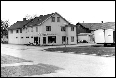 Handelsbolaget på platsen där coop KONSUM ligger idag.