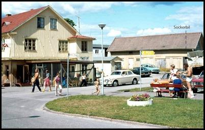 ICA Owes Livs i gamla Handelsbolagets butikslokal. / foto : Uno Halfvardsson