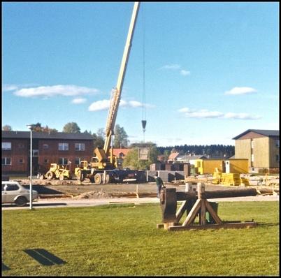 Bygget av nya ICA Svenohallen har startat - 1970-talet.