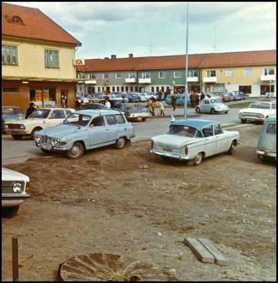 Handelsbolaget / ICA Owes Livs på platsen där nya coop Konsum ligger idag.