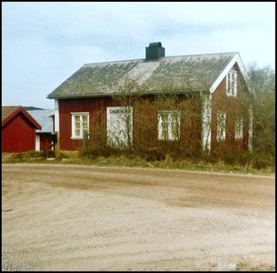 Det gamla huset på övre delen av Bögatan.