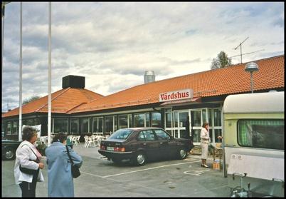 Värdshuset där Töcksfors Shoppingcenter  ligger idag.