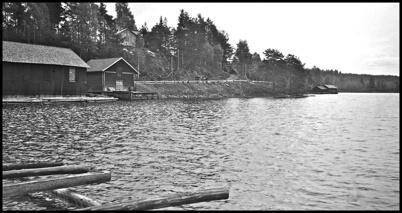 Hamnmagasinen i Sandviken - 1930- 1940-talet.