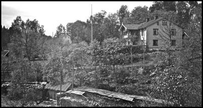 Töcksfors herrgård - 1930- 1940-talet.