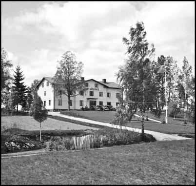 Turisthotellet på 1940-talet.