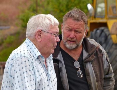 16 juli 2013 Sigge och Gunnar - far och son.