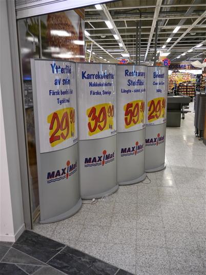 20 mars 2013 - Dagen före invigningen.