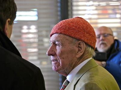 21 mars 2013  - Olav Thon - finansman och ägare av Töcksfors Shoppingcenter.