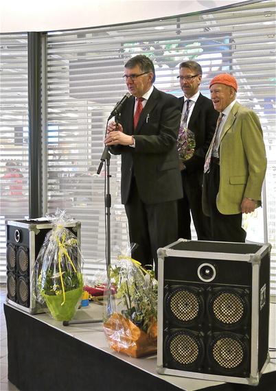 21 mars 2013 - Kjell Eriksson, Konsum Värmlands VD Steve Fredriksson och Olav Thon.