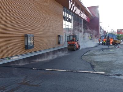 21 februari 2013 - Burger King´s Drive in kan snart öppna.