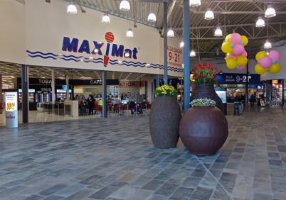 22 mars 2013 - Maxi Mat i Töcksfors Shoppingcenter.