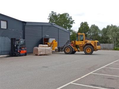 5 juli 2013 - arbetet med att bygga den nya butiken har startat.