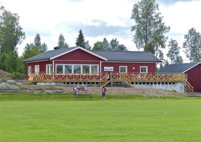 25 juni 2013 - TIF:s nya klubbstuga är klar att tas i bruk.