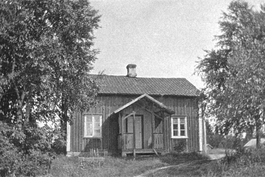 Myra i Elovsbyn där Oscar Andersson den elektriska adventsljusstakens uppfinnare hade sina rötter.