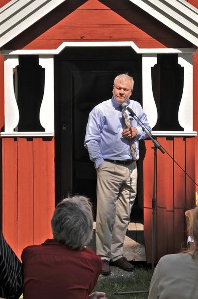 VD Benny Ruus, Dalslands Kanal AB.