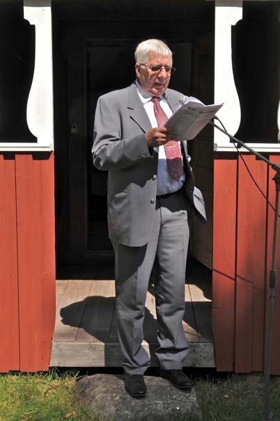 För Töcksmarks pastorat talar ordf. Lennart Berglund.
