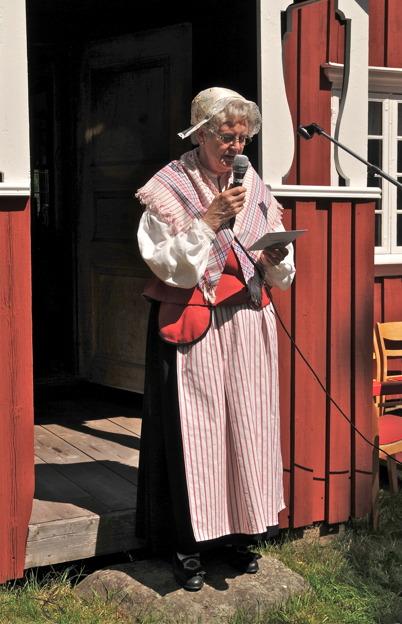 Berit Eriksson från Västra Fågelviks församling.