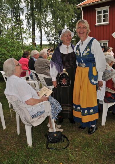 Brita Moberg, Gun Andersson och Lena (Moberg) Hjalmarsson.