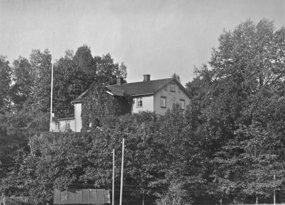 Töcksfors Herrgård 1923.
