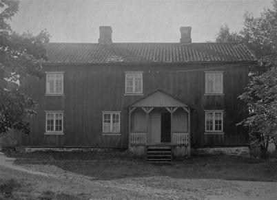 Smedgården i Töcksfors byggd 1826.