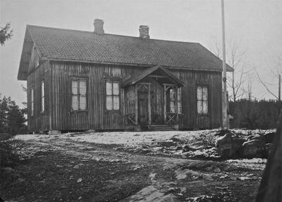 Godtemplarlokalen i Töcksfors 1923.