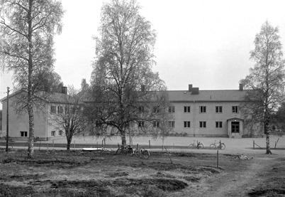 50. Töcksfors nya skola. Foto : Axel Gunnar Ödvall / Årjängs kommuns bildbank